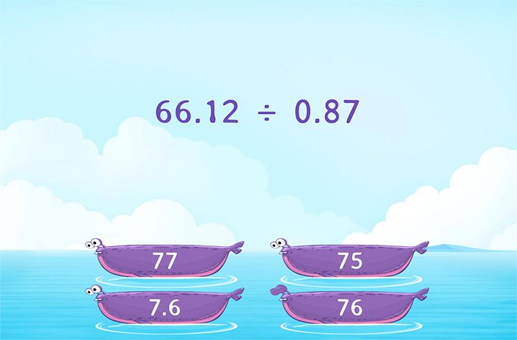 Divide by Tenths and Hundredths
