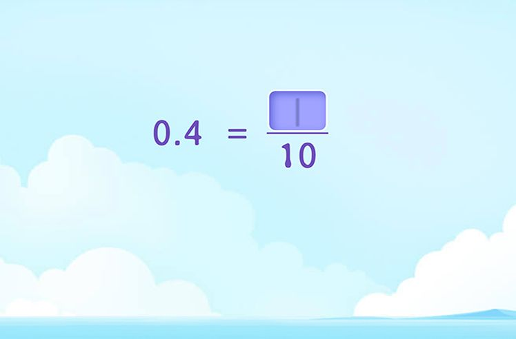 Change Decimal Numbers into Fractions