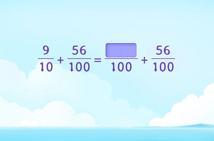 Add Decimal Fractions Using Equivalence