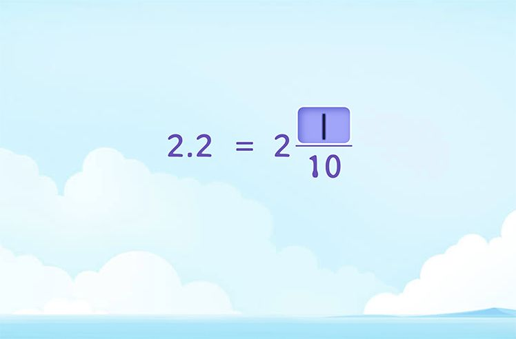 Write Decimals as Mixed Numbers