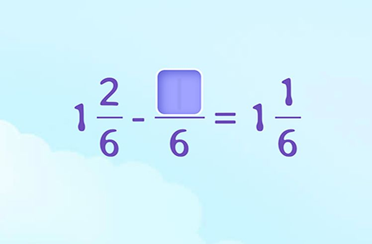 Complete the Subtraction between a Mixed Number and a Fraction