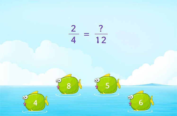 Complete the Equivalent Fractions