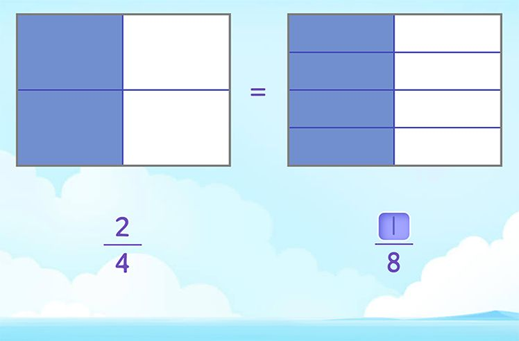 Generate Equivalent Fractions