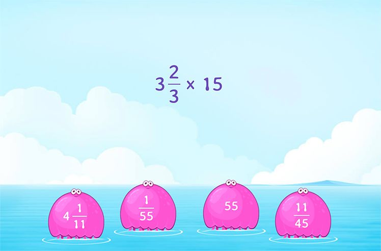 Multiply a Mixed Number and a Fraction