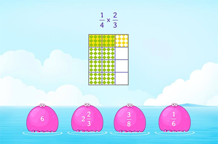 Multiply Fractions using Models
