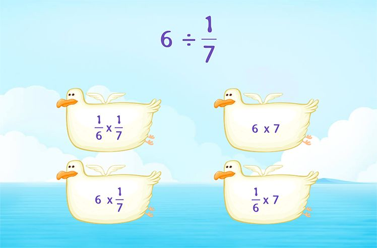 Simplify Division by Unit Fraction
