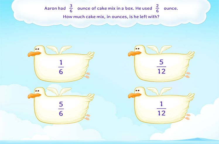 Solve the Word Problems on Fraction Subtraction