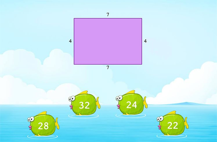 Find the Area by Multiplying the Side Lengths