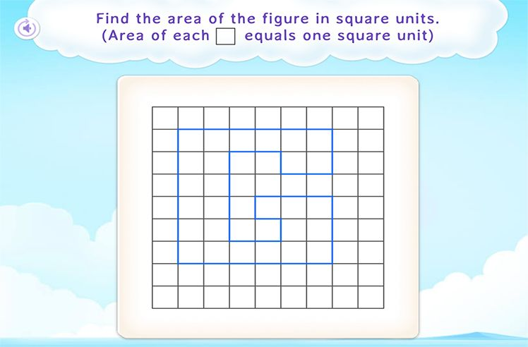 Determine the Area of Rectilinear Shapes