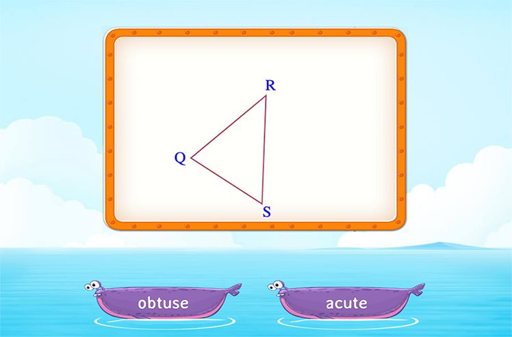 Identify the Type of Triangles Based on Angles