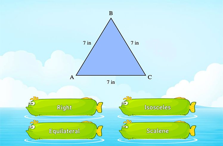 Answer Questions Related to Triangles