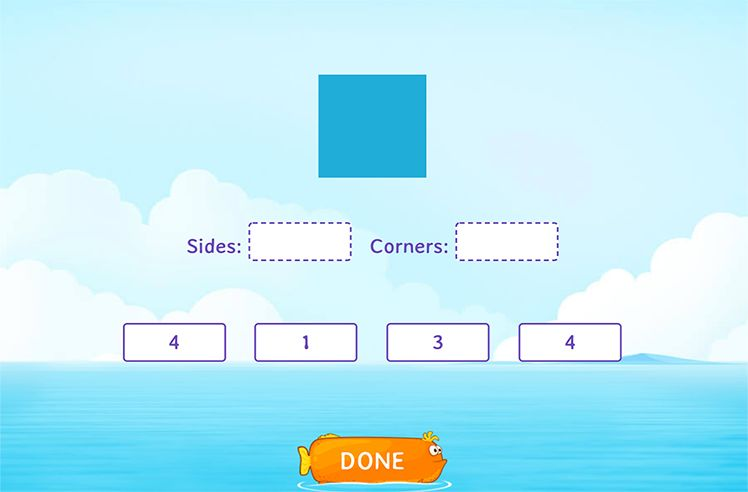 Count Sides and Corners