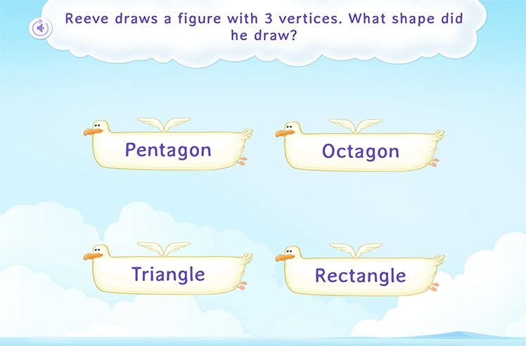 Identify the Shapes on basis of Corners