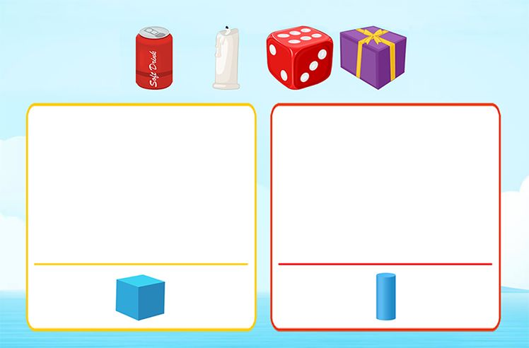 Match Objects with Shapes