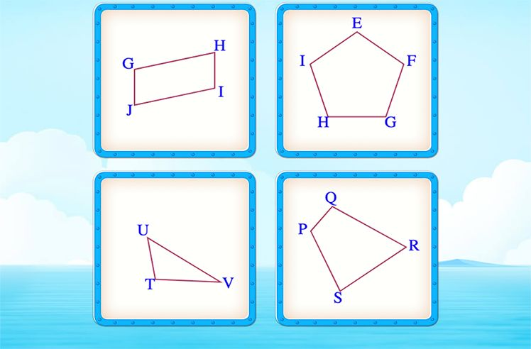 Identify the Shape Which has Two Pairs of Parallel Sides