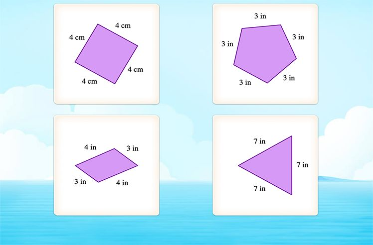 Classify Quadrilaterals in Different Orientation