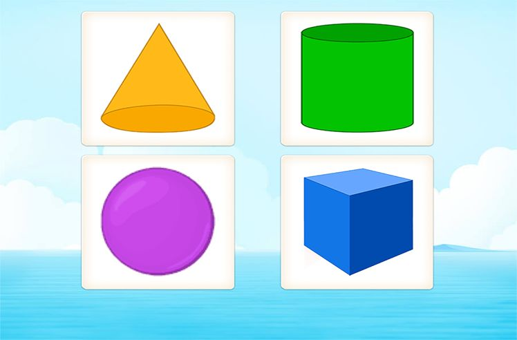 Identify Shapes on the basis of Faces