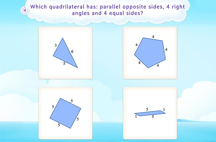 Identify Common Attributes in Shapes