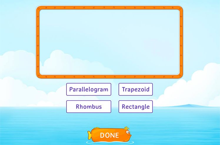 Classify Shapes According to their Subcategories
