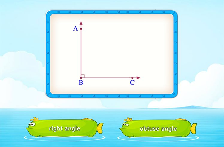 Identify Angles by their Types