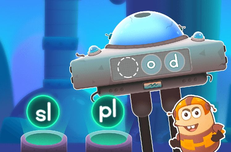 Build Words With Initial L Blends - sl
