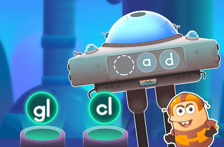 Build Words With Initial L Blends - cl