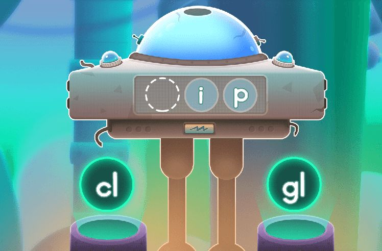 Build Words With Initial L Blends - gl