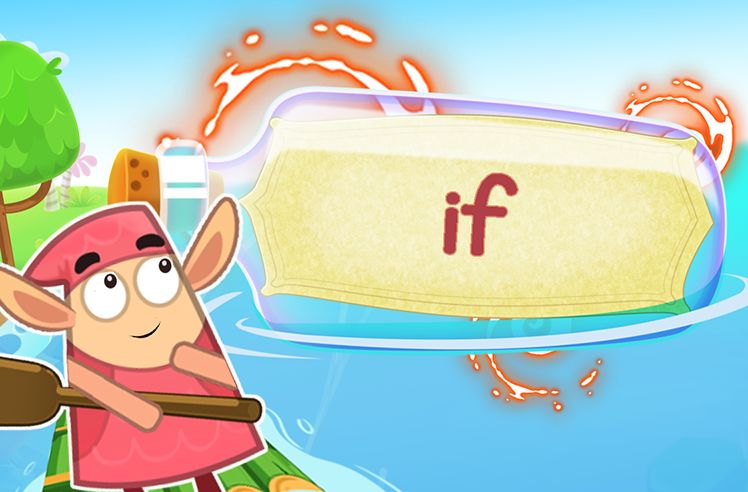 Practice the Sight Word: if