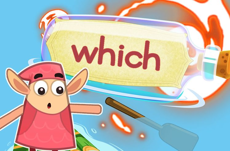 Practice the Sight Word: which