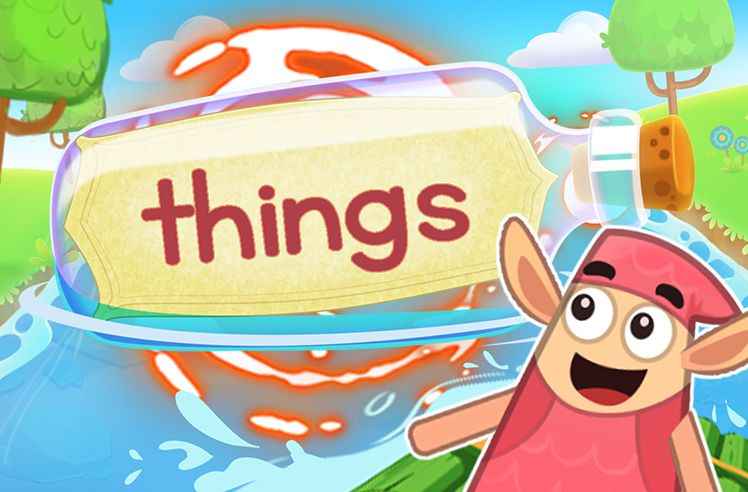 Practice the Sight Word: things