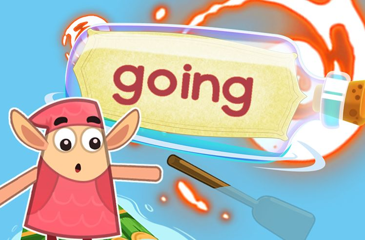 Practice the Sight Word: going