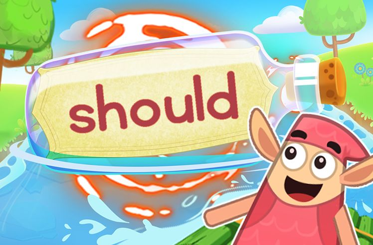 Practice the Sight Word: should
