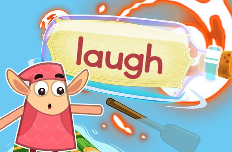 Practice the Sight Word: laugh