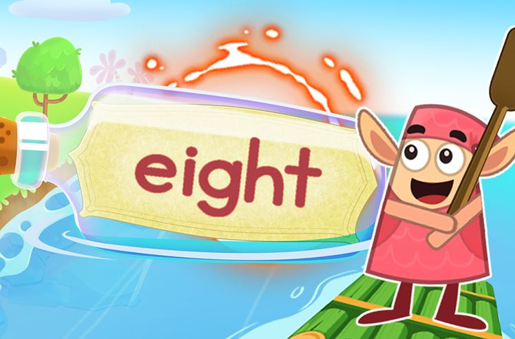 Practice the Sight Word: eight