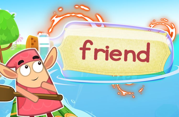 Practice the Sight Word: friend