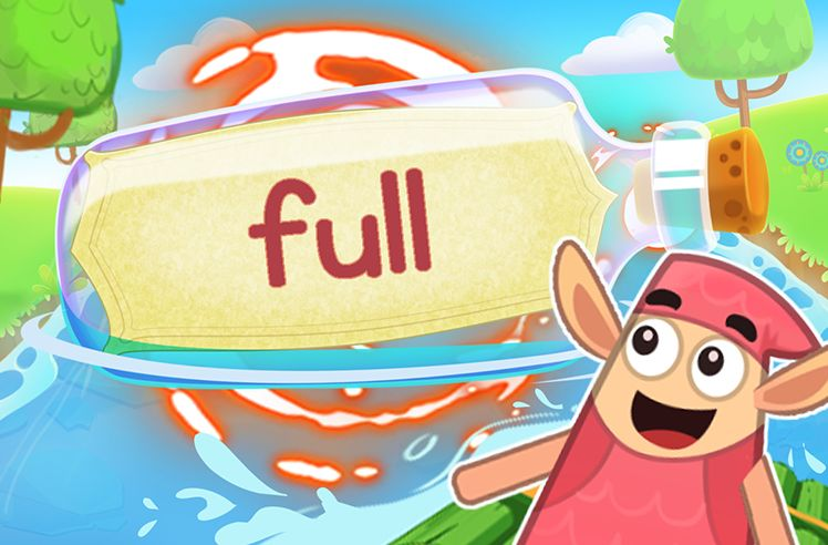 Practice the Sight Word: full