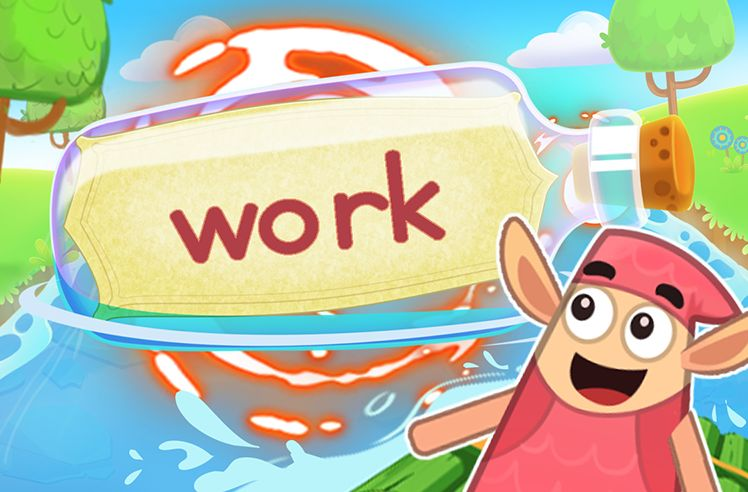Practice the Sight Word: work