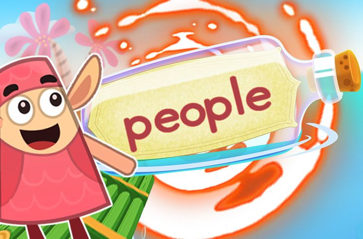 Practice the Sight Word: people