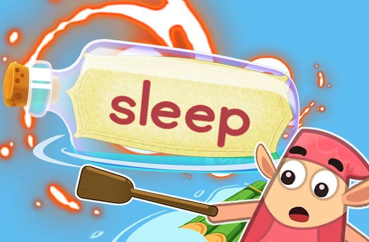 Practice the Sight Word: sleep