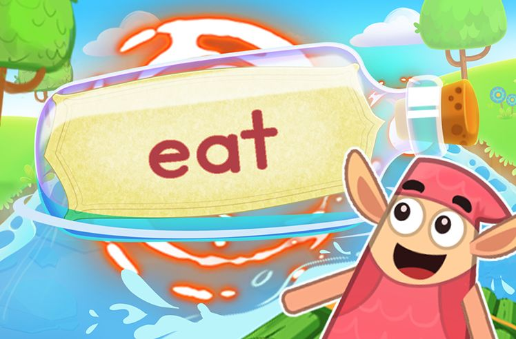 Practice the Sight Word: eat