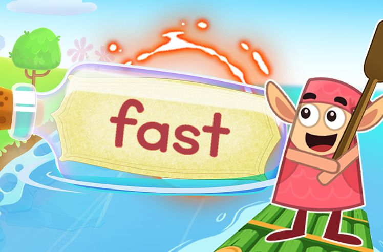 Practice the Sight Word: fast