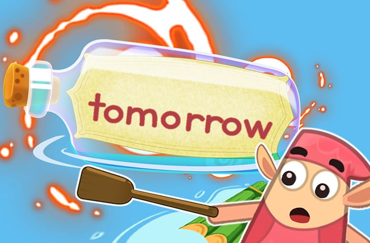 Practice the Sight Word: tomorrow
