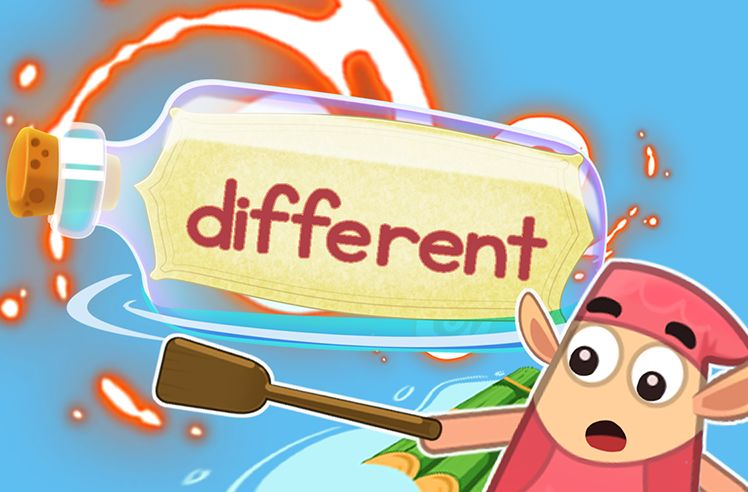 Practice the Sight Word: different