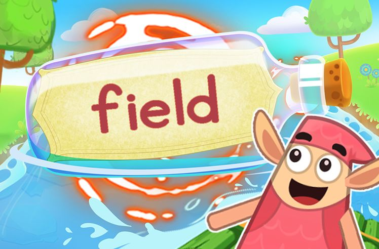 Practice the Sight Word: field
