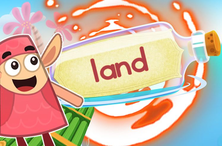 Practice the Sight Word: land
