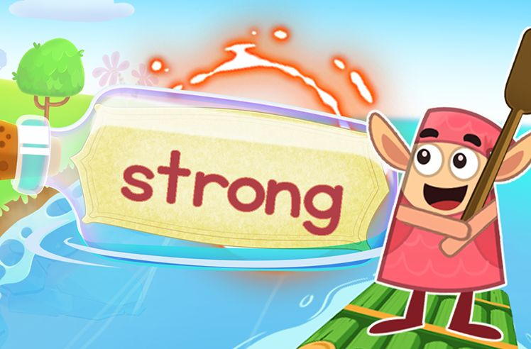 Practice the Sight Word: strong