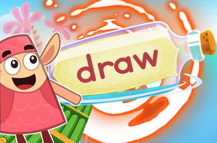 Practice the Sight Word: draw