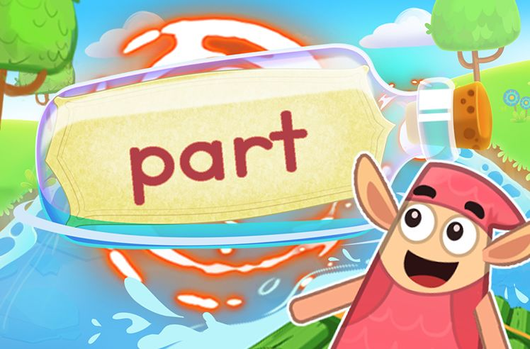 Practice the Sight Word: part