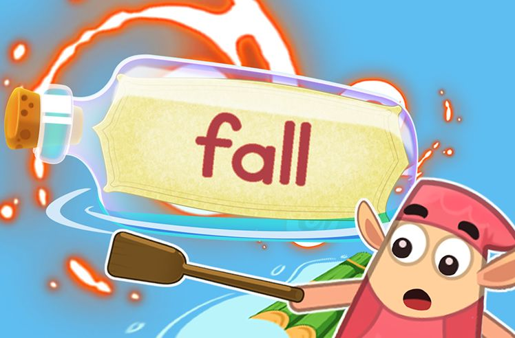Practice the Sight Word: fall