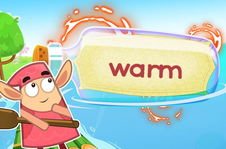 Practice the Sight Word: warm
